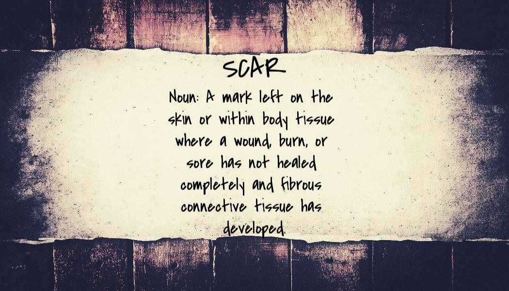 scar - definition